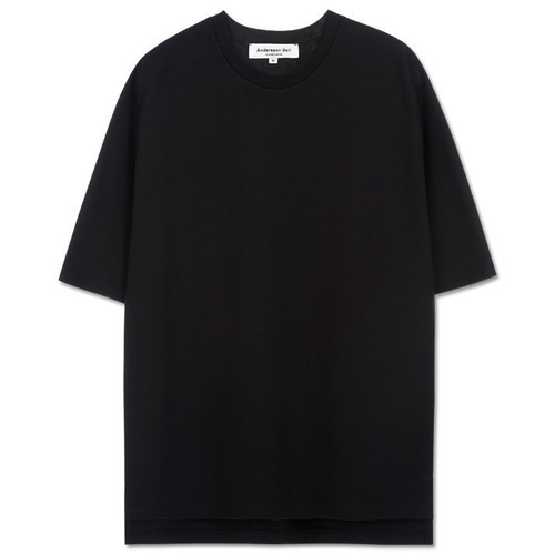 [앤더슨벨][당일출고]UNISEX Bliss New Raglan T-shirt atb073 BLACK