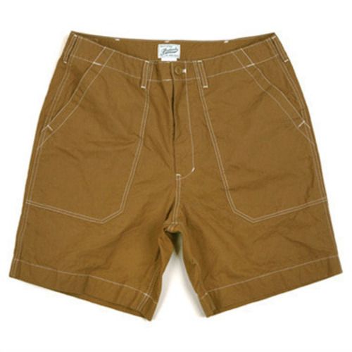 [스웰맙]Swellmob canvas holiday shorts -camel-
