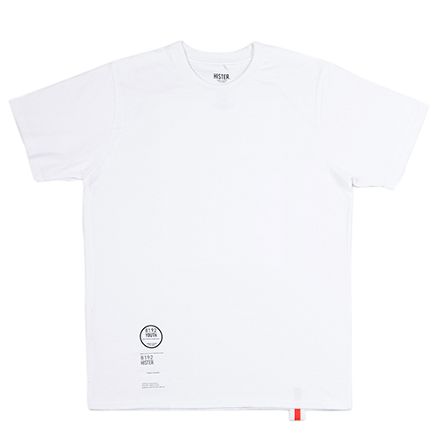 [히스터]NUMBER T-SHIRTS WHITE