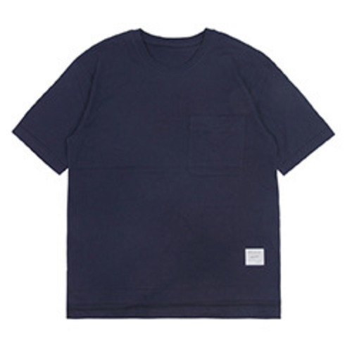[코이그레이]oversized pocket T-shirts NAVY