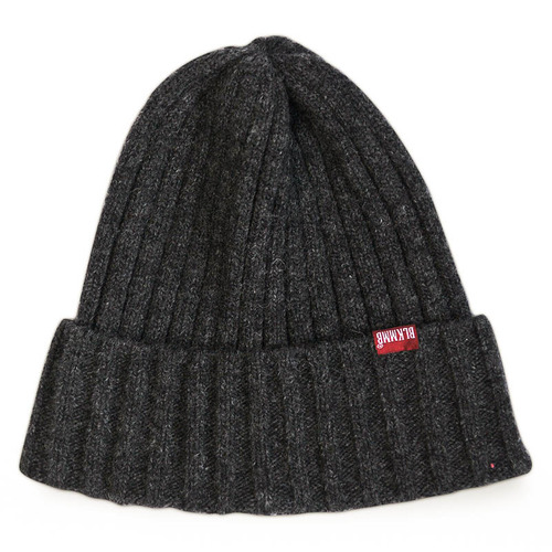 Larva Wool knit Beanie CHARCOAL