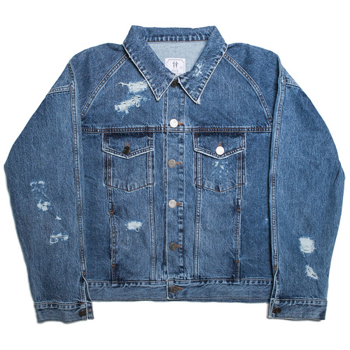 [히스터]OVER-FIT DENIM JACKET