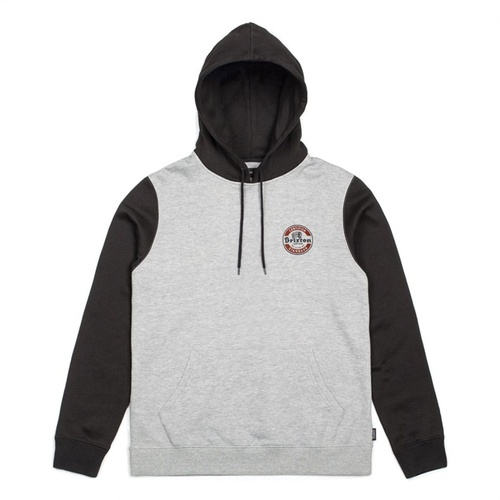 [브릭스톤]SOTO HOOD FLEECE HEATHER GREY/BLACK