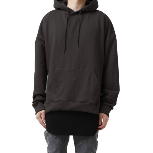 [페이드6]OVERFIT TERRY HOODIE BLACKISH BROWN