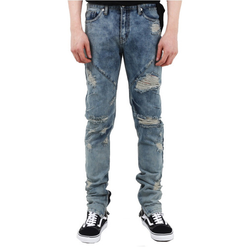 [페이드6]DESTROYED WASHED JEANS