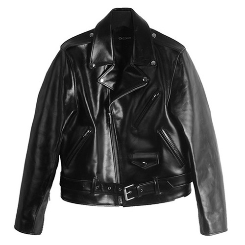 [도프제이슨]Cowhide hard rider jacket