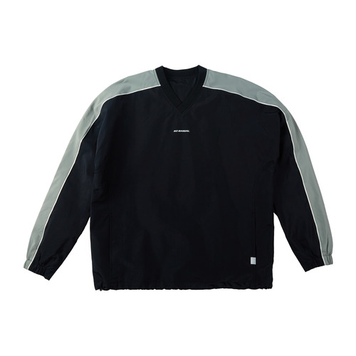 [노메뉴얼]Warm-up Sweat Shirt black