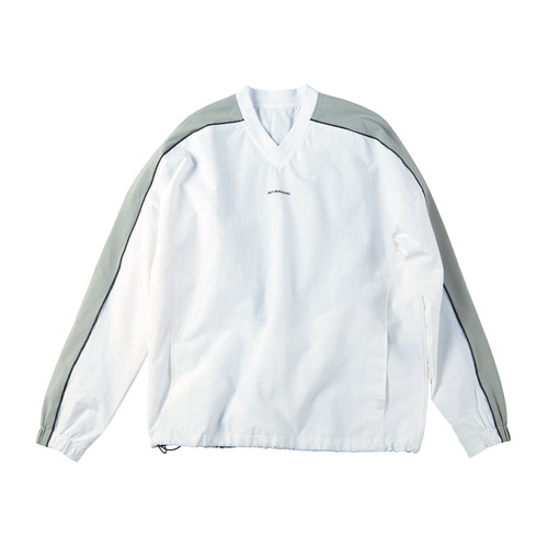 [노메뉴얼]Warm-up Sweat Shirt white