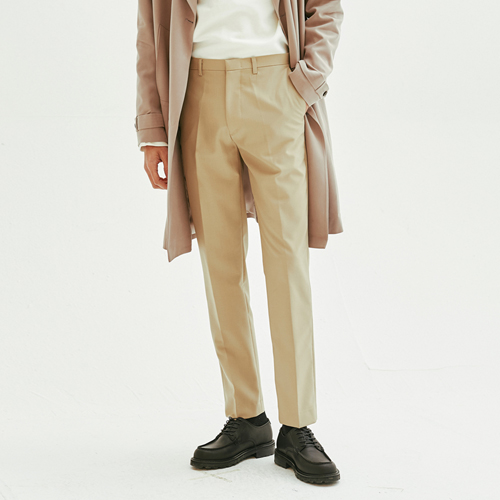 [모노소잉]Natural Trouser (Light Beige)