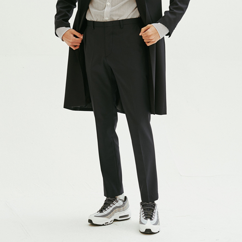 [모노소잉]Solid Trouser (Dark Navy)
