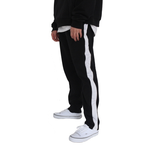 [페이드6]LINE SWEAT PANTS WHITE