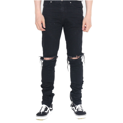 [페이드6]DESTROYED JEANS BLACK