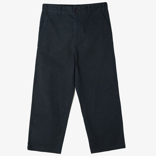 [오베이]LOITER BIG FITS PANTS BLACK