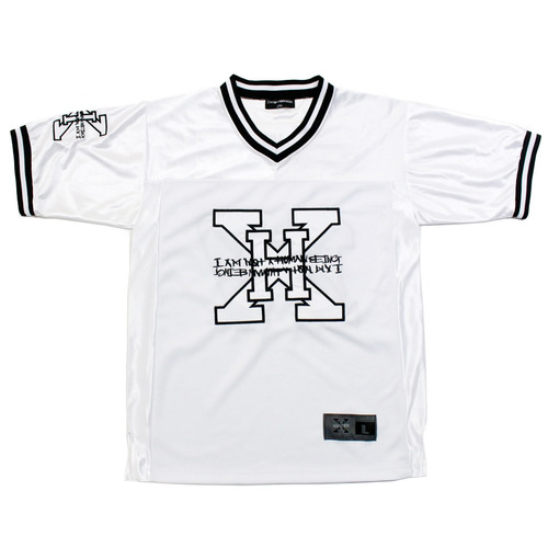 [아이엠낫어휴먼비잉][17SS] XHB Foot Ball Jersey - White