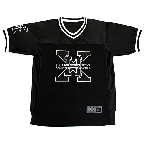[아이엠낫어휴먼비잉][17SS] XHB Foot Ball Jersey - Black