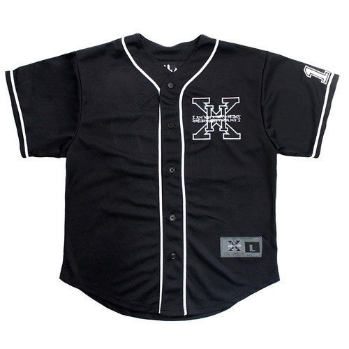 [아이엠낫어휴먼비잉][17SS] XHB Base Ball Jersey - Black