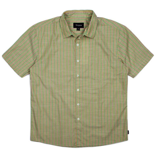 [브릭스톤]LLOYD S/S WVN [GREEN/GOLD]