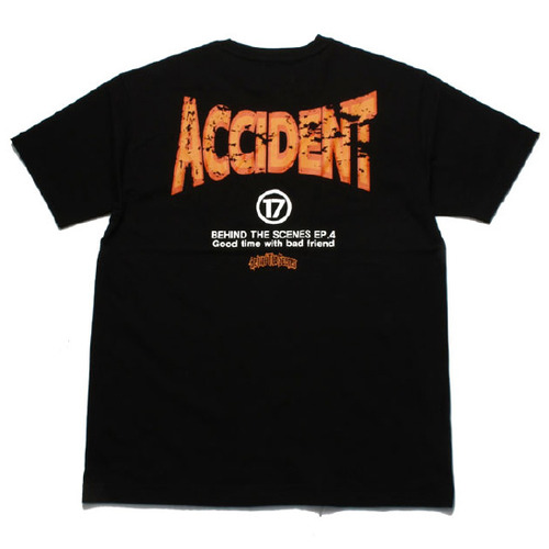 [비하인드더씬]Accident tee Black