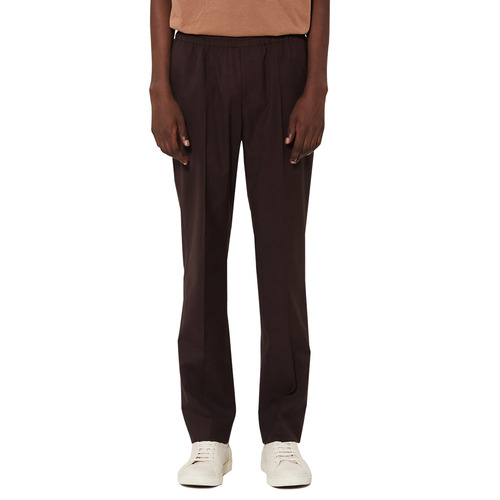 [모노소잉]Banding Trouser(Brown)
