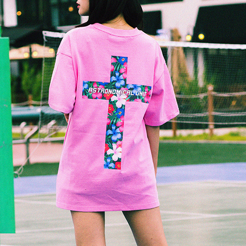 [0.387AU] Flower-Cross Pink limited