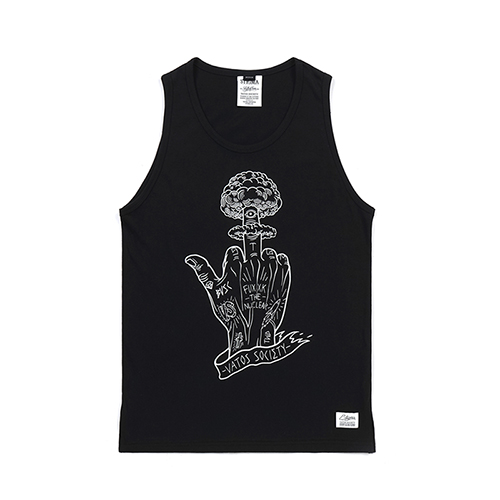 [스티그마]STIGMA NUCLEAR SLEEVELESS BLACK