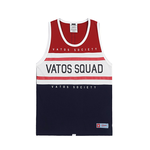 [스티그마]STIGMA RUGBY SLEEVELESS RED