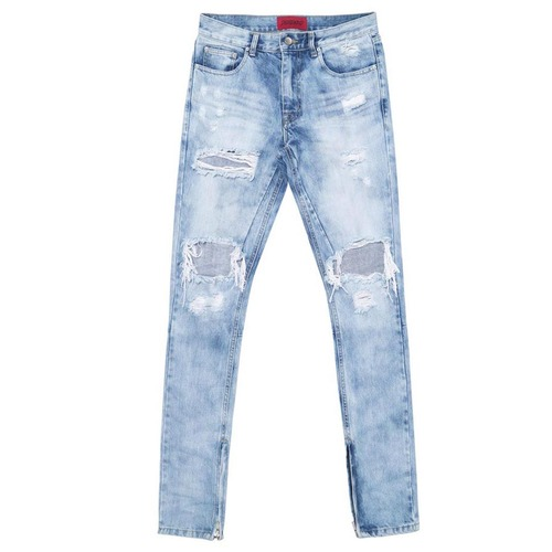 [데드엔드]SELVEDGE ZIPPER DENIM JEANS