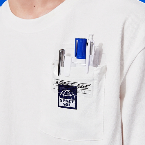 [스페이스에이지]SPACE AGE POCKET PROTECTOR (CLEAR)