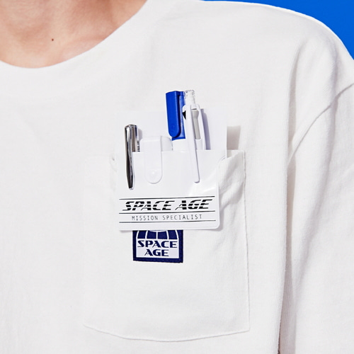 [스페이스에이지]SPACE AGE POCKET PROTECTOR (WHT)