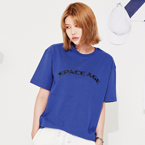 [스페이스에이지]SPACE AGE ARCH LOGO T-SHIRTS (BLUE)