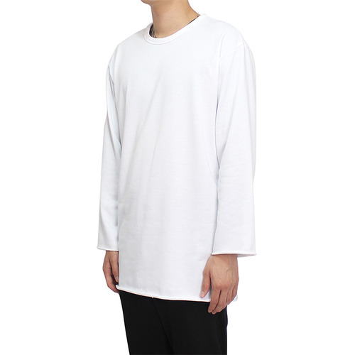 [클라코] CUTTING LONG SLEEVE (WHITE)