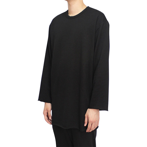 [클라코] CUTTING LONG SLEEVE (BLACK)