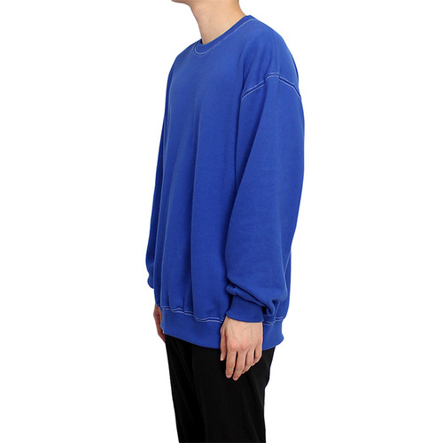 [클라코] STITCH SWEAT SHIRTS (BLUE)