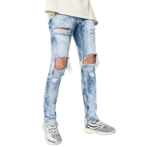 [데드엔드]BRUSHED ZIPPER DENIM JEANS