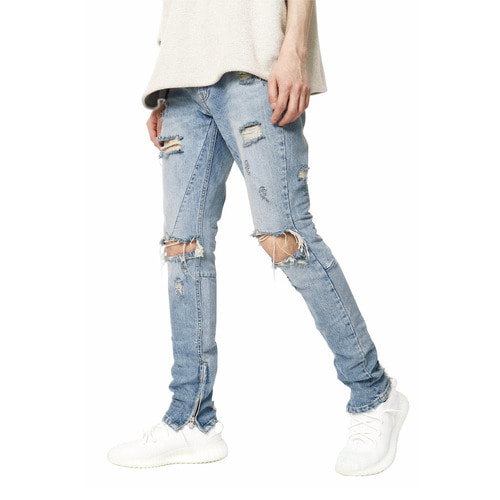 [데드엔드]EXPLODE ZIPPER DENIM JEANS
