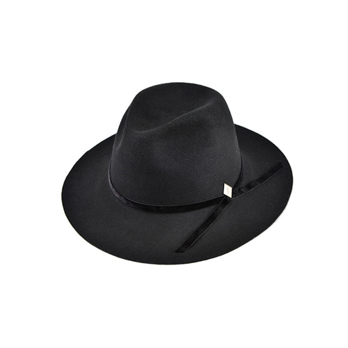 [밀리어네어햇]velvet custom fedora [BLACK]