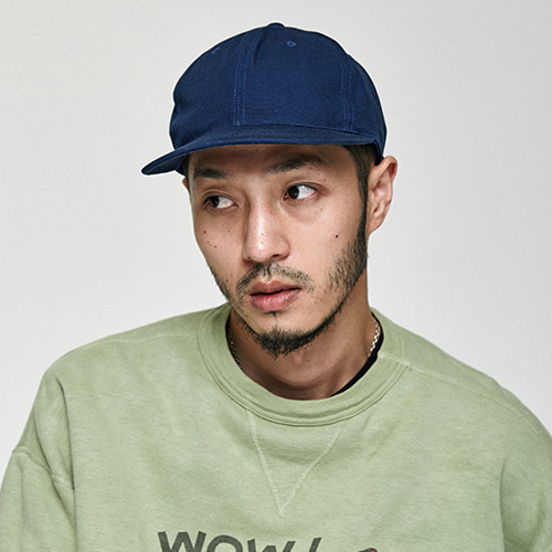 [밀리어네어햇]canvas ball cap [NAVY]
