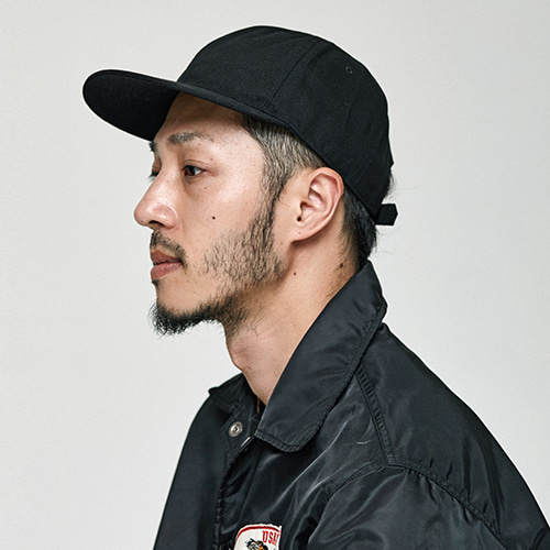 [밀리어네어햇]canvas ball cap [BLACK