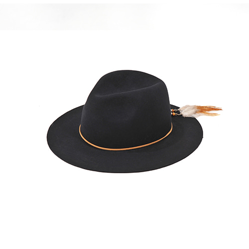 [밀리어네어햇]2way custom wool fedora [NAVY]