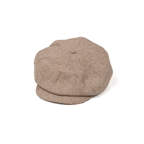 [밀리어네어햇](wool mix) newsboy cap [BEIGE]