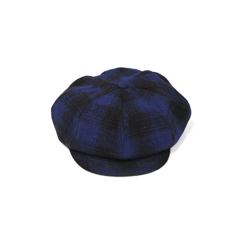 [밀리어네어햇](tartan check) newsboy cap [BLUE]