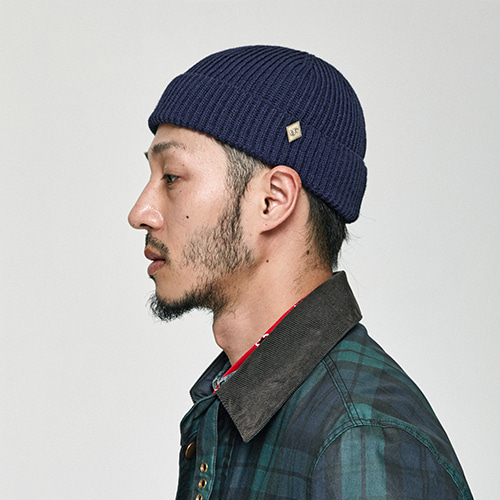 [밀리어네어햇](cotton) watch cap [NAVY]