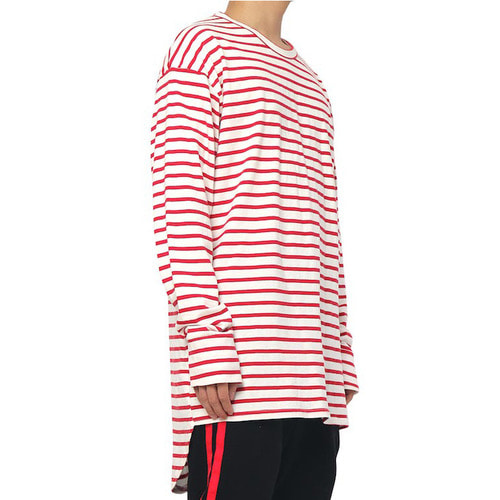 [데드엔드]RED STRIPE IMBALANCE LONG SLV