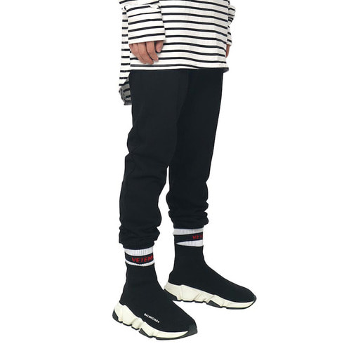 [데드엔드]BLACK JOG PANTS