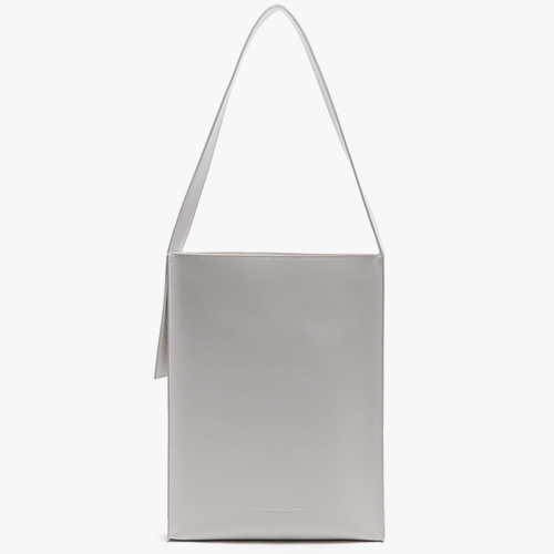 [피스메이커]LEATHER FLAT SHOULDER BAG (WHITE)