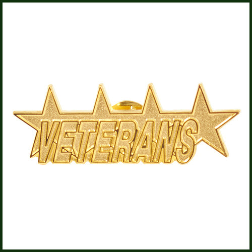 [노메뉴얼]24k gold-plating veteran badge GOLD