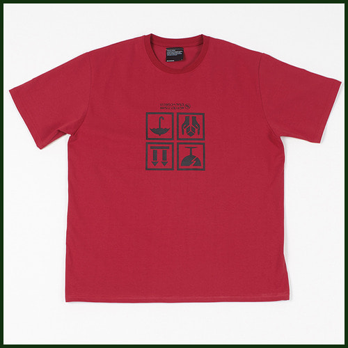 [노메뉴얼]fragile t-shirt RED