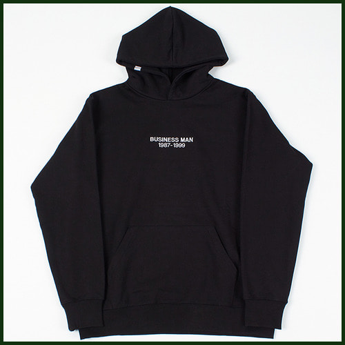 [노메뉴얼]business-man heavy hoodie BLACK