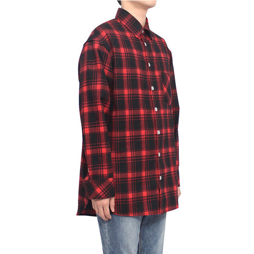 [클라코] FLANNEL SHIRTS V3 (RED)