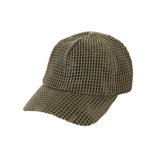 [바잘] Mesh cover point ballcap khaki